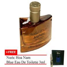 Nước Hoa Nam Tinh Aspire Eau De Parfum 60Ml Tặng Nước Hoa Nam Blue Eau De Toilette 3Ml Jolie Dion Rẻ Trong Hồ Chí Minh