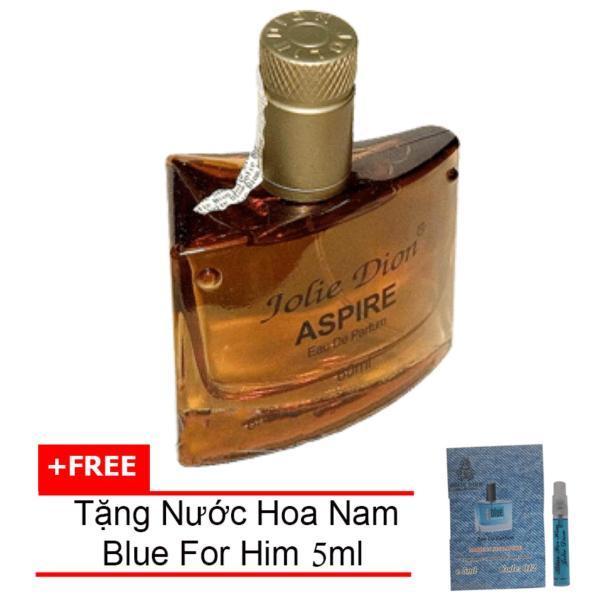Nước hoa nam tính Aspire eau de parfum 60ml + Tặng Nước hoa nam Blue For Him eau de parfum 5ml