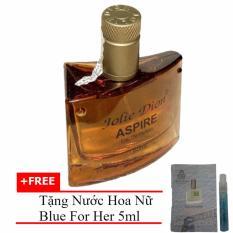 Nước hoa nam tính Aspire eau de parfum 60ml + Tặng Nước hoa nữ Blue For Her eau de parfum 5ml