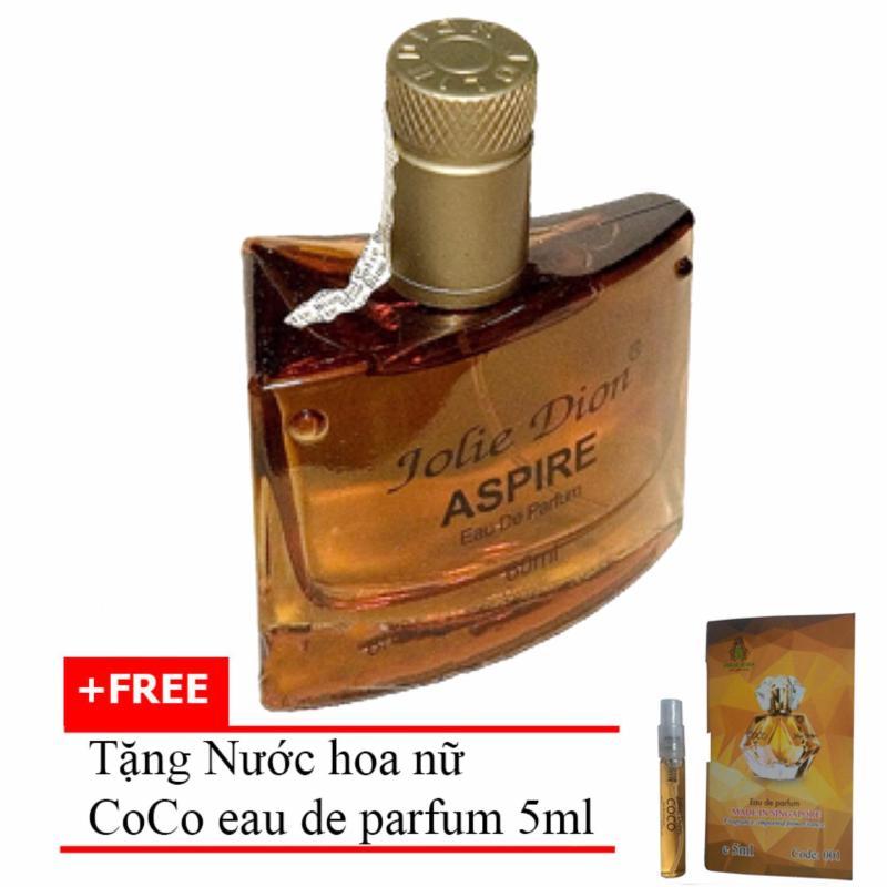 Nước hoa nam tính Aspire eau de parfum 60ml + Tặng Nước hoa nữ CoCo eau de parfum 5ml