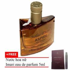 Nước hoa nam tính Aspire eau de parfum 60ml + Tặng Nước hoa nữ Imari eau de parfum 5ml