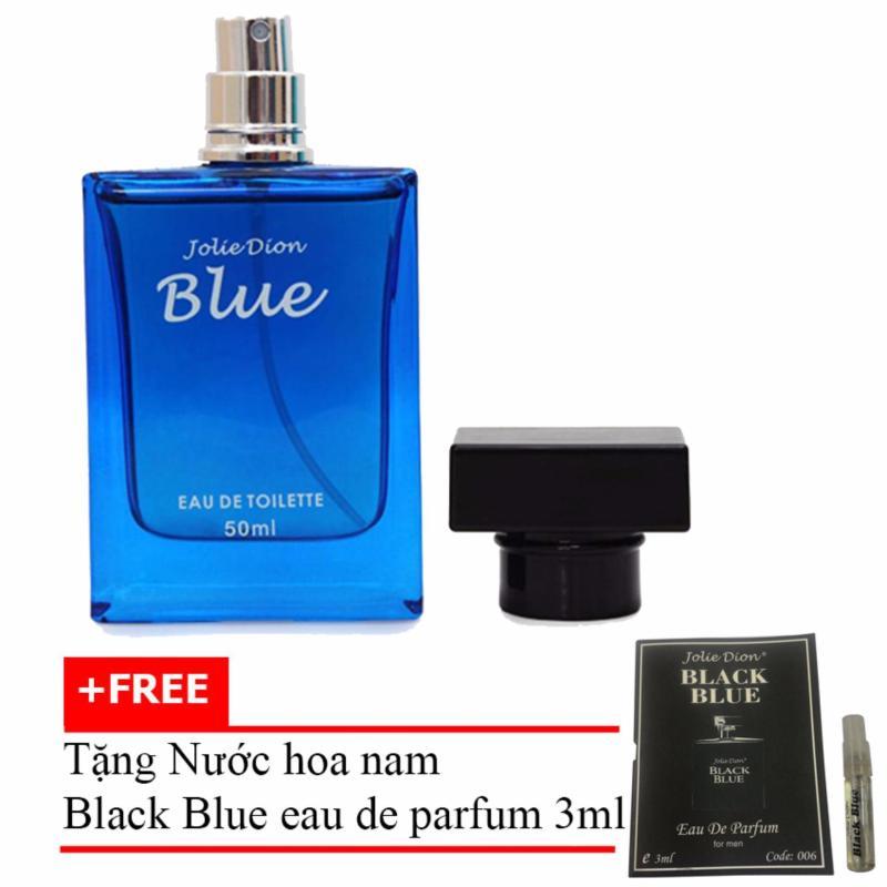 Nước hoa nam tính BLUE eau de toilette 50ml + Tặng Nước hoa nam Black Blue eau de parfum 3ml