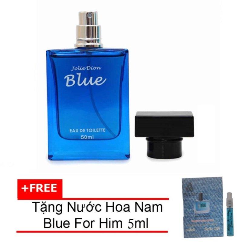 Nước hoa nam tính BLUE eau de toilette 50ml + Tặng Nước hoa nam Blue For Him eau de parfum 5ml