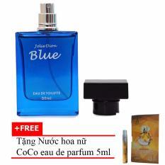 Nước hoa nam tính BLUE eau de toilette 50ml + Tặng Nước hoa nữ CoCo eau de parfum 5ml