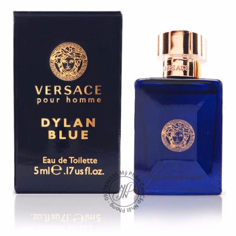 Nước hoa nam V.E.R.S.A.C.E Dylan Blue Pour Homme Eau de Toilette 5ml nhập khẩu