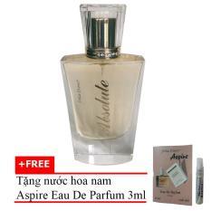 Nước Hoa Nữ Absolute Eau De Parfum 60ml + Tặng Nước Hoa Nam Aspire Eau De Toilette 3ml
