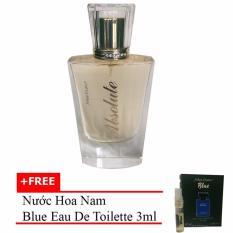 Nước hoa nữ Absolute Eau de Parfum 60ml + Tặng nước hoa nam Blue eau de toilette 3ml