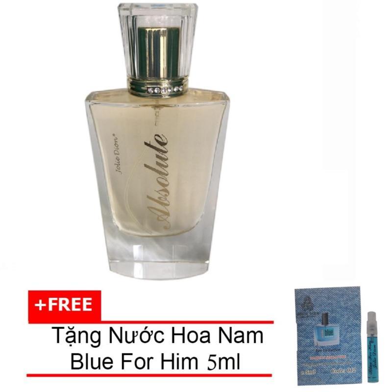 Nước hoa nữ Absolute Eau de Parfum 60ml + Tặng Nước hoa nam Blue For Him eau de parfum 5ml