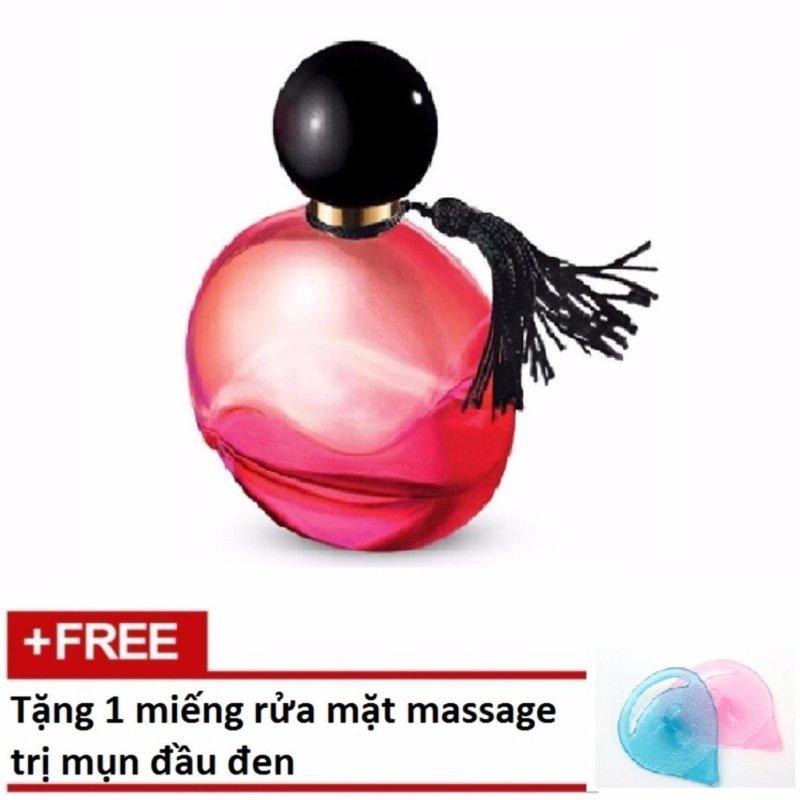 Nước Hoa Nữ Avon Far Away Paradise 50ml + Tặng 1 Miếng Rửa Mặt Massage Trị Mụn Đầu Đen