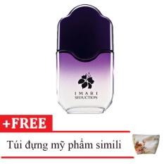 Nước hoa nữ Avon Imari Seduction 50ml tặng kèm túi đựng mỹ phẩm da simili Mã N0.2