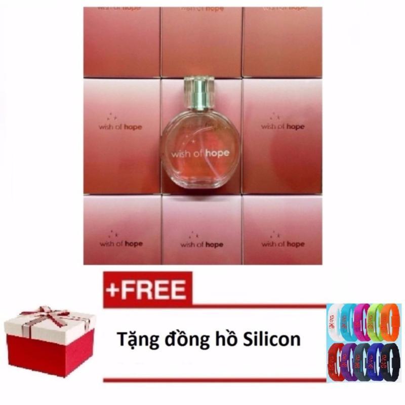 Nước Hoa Nữ Avon Wish Of Hope 50Ml + Tặng 1 Đồng Hồ Silicon (Màu ngẫu nhiên)