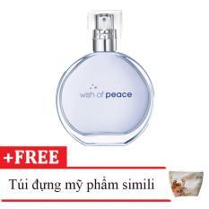 Nước hoa nữ Avon Wish of Peace 50ml tặng kèm túi đựng mỹ phẩm da simili