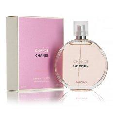 Nước Hoa Nữ Chanel Chance Eau Vive Eau De Toilette 100 Ml