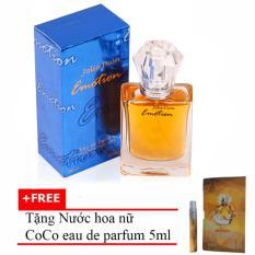 Nước hoa nữ Emotion Eau de Parfum 50ml + Tặng Nước hoa nữ CoCo eau de parfum 5ml