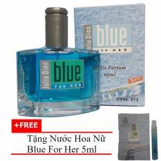 Ôn Tập Nước Hoa Nữ Jolie Dion Blue For Her Eau De Parfum 60Ml Tặng Nước Hoa Nữ Blue For Her Eau De Parfum 5Ml