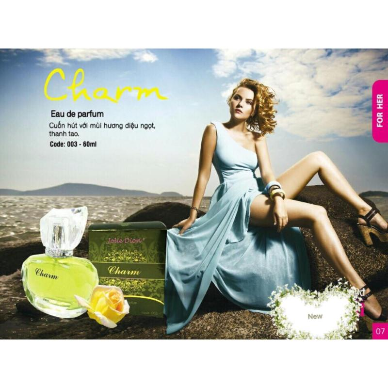 Nước hoa nữ Jolie Dion Charm 60ml