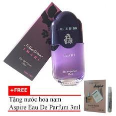 Nước Hoa Nữ Jolie Dion Imari Eau De Parfum 60ml + Tặng Nước Hoa Nam Aspire Eau De Toilette 3ml