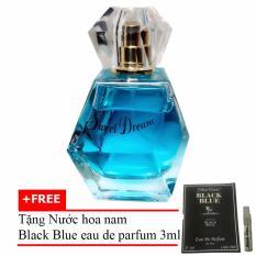 Nước hoa nữ Jolie Dion Sweet dream Eau de Parfum 60ml + Tặng Nước hoa nam Black Blue eau de parfum 3ml
