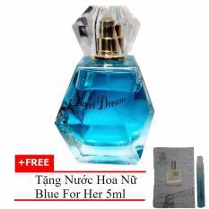 Nước hoa nữ Jolie Dion Sweet dream Eau de Parfum 60ml + Tặng Nước hoa nữ Blue For Her eau de parfum 5ml
