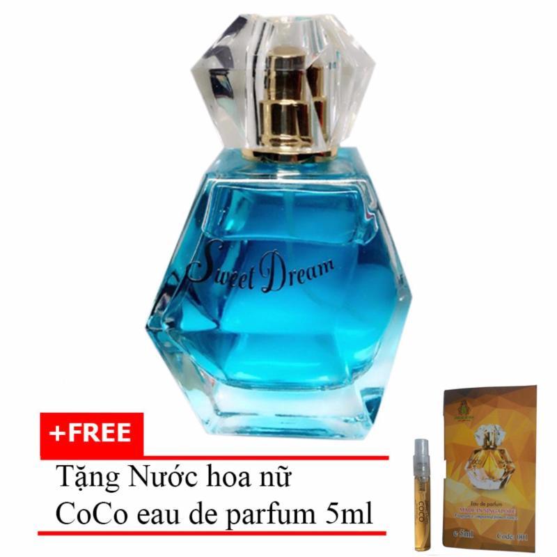 Nước hoa nữ Jolie Dion Sweet dream Eau de Parfum 60ml + Tặng Nước hoa nữ CoCo eau de parfum 5ml