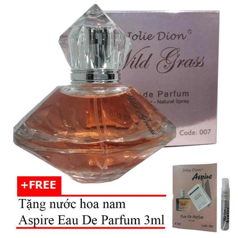 Nước Hoa Nữ Wild Grass Eau De Parfum 80ml + Tặng Nước Hoa Nam Aspire Eau De Toilette 3ml