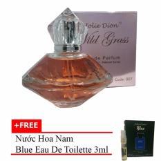 Nước hoa nữ Wild grass eau de parfum 80ml + Tặng nước hoa nam Blue eau de toilette 3ml