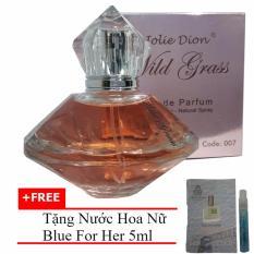 Nước hoa nữ Wild grass eau de parfum 80ml + Tặng Nước hoa nữ Blue For Her eau de parfum 5ml