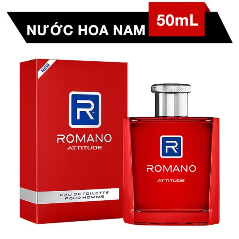 Nước hoa Romano Attitude 50ml đỏ