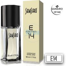 NƯỚC HOA SANSIRO THỔ NHĨ KỲ 50ML - E14 dành cho nam