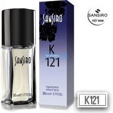 NƯỚC HOA SANSIRO THỔ NHĨ KỲ 50ML - K121 dành cho nữ