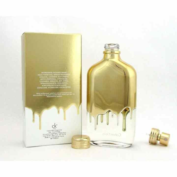 Nước hoa unisex Calvin Klein Gold Eau De Toilette 50ml