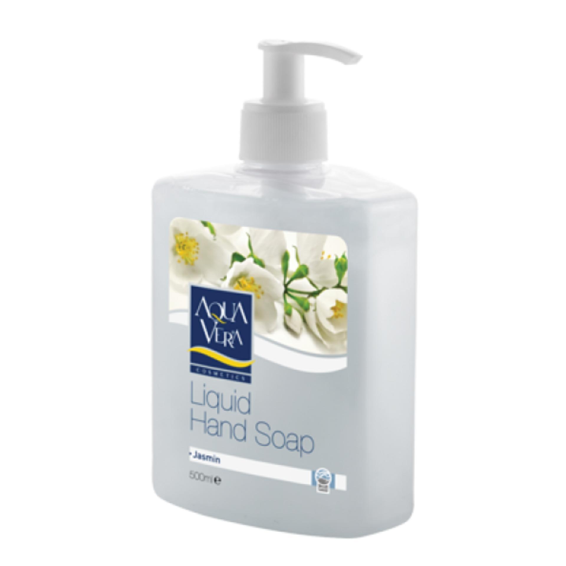 Nước Rửa Tay Hương Hoa Nhài Aquavera Liquid Hand Wash 500Ml # Jasmine