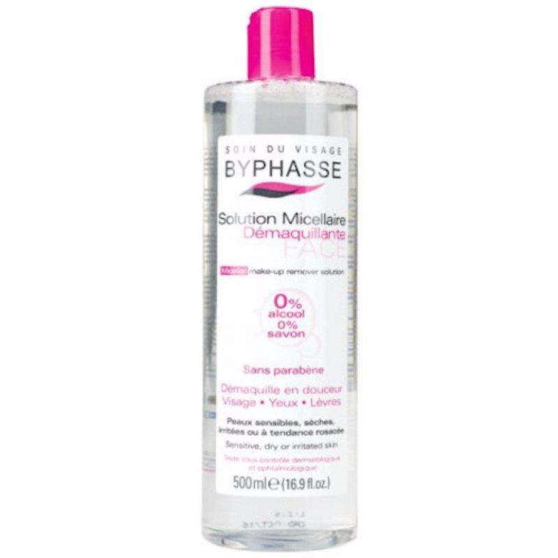 Nước tẩy trang Byphasse Micellar Make-up Remover Solution 500ml (Hàng Chính Hãng) cao cấp