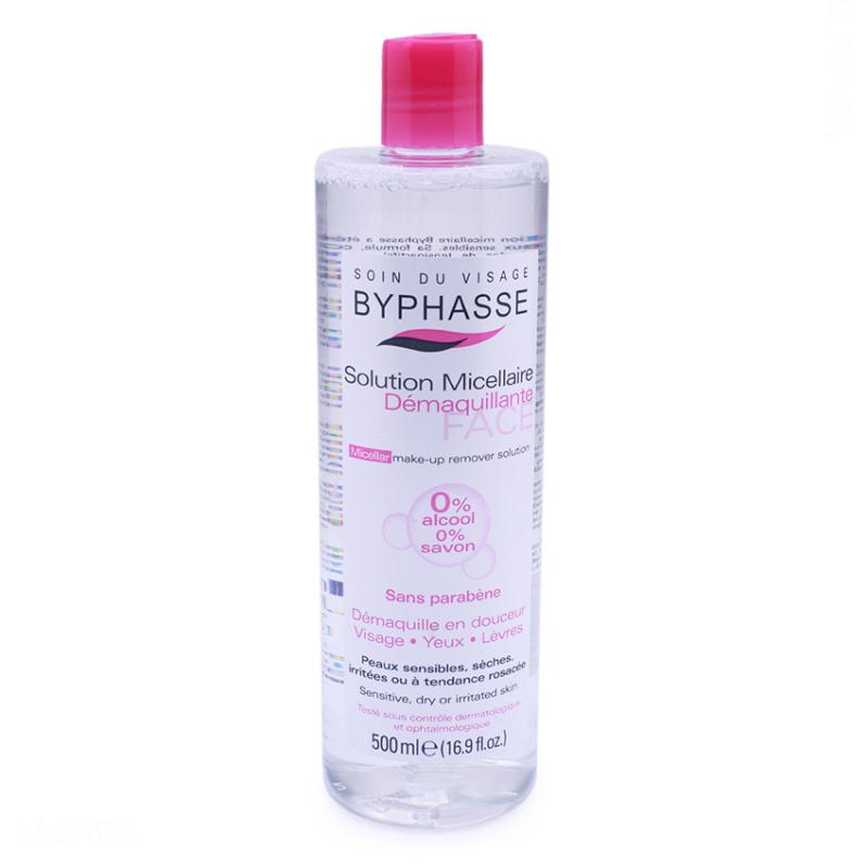 Nước tẩy trang Micellar Byphasse 500ml nhập khẩu