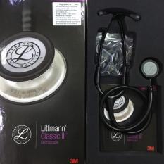 Ống Nghe Littmann CLassic III 5803 Màu Đen Gọng Đen