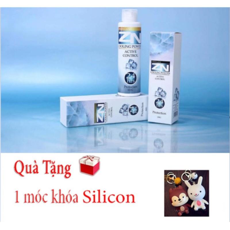 Phấn Lạnh ZN Đặc Trị Hôi Nách, Hôi Chân Vĩnh viễn- Tặng móc khóa Silicon nhập khẩu