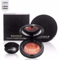 Hình ảnh Phấn má hồng góp phần làm nổi bật hai gò má Beauskin Crystal Marble Blusher #3 Hàn Quốc