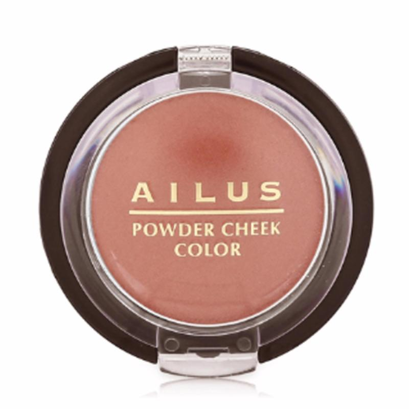 Phấn má Naris Ailus Powder Cheek Color Cao cấp Nhật Bản RD1 (Màu cam) - Hàng chính hãng nhập khẩu