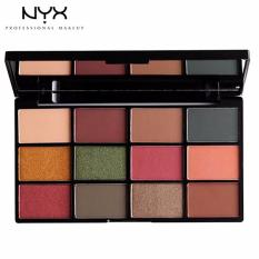Mua Phấn Mắt 12 O Nyx Professional Makeup In Your Element Shadow Palette Iyesp02 Earth Nyx