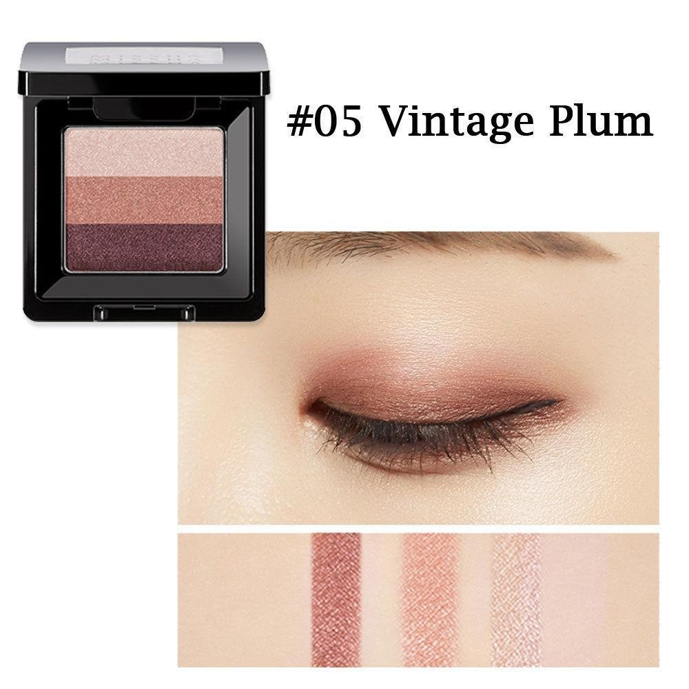 Phấn Mắt 3 Màu Missha Triple Shadow #no 5 Vintage Plum
