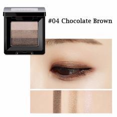 Chiết Khấu Phấn Mắt Missha Triple Shadow No 4 Chocolate Brown Missha