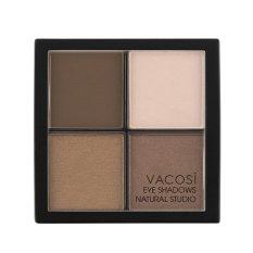 Phấn Mắt Phối 4 Mau Vacosi Sk Color Eye Shadow Vacosi Natural Studio No 7 Vacosi Rẻ Trong Hà Nội