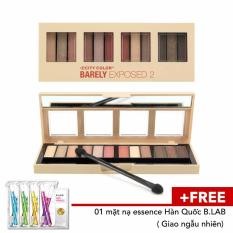 Phấn Mắt Usa City Color Barely Exposed Eyeshadow Rẻ