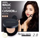 Bán Phấn Nước April Skin Black Magic Snow Cushion 15G 22 Pink Beige April Skin Nguyên
