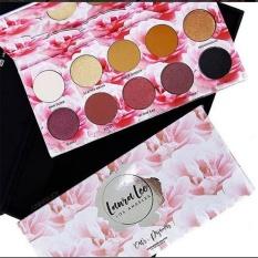 Pro Trang Điểm 10 Màu Sắc Sáng Chống Nước Eyeshadow Palette Lắc Chân Nữ Mờ Mắt Mỹ Phẩm Làm Đẹp-quốc tế