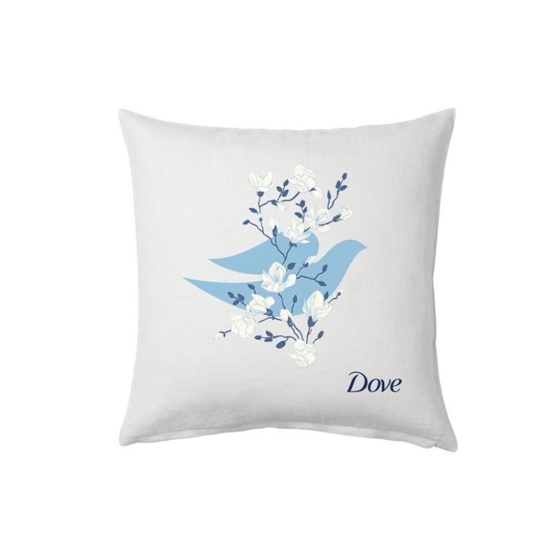 (Quà tặng không bán) Gối tựa lưng Dove nhập khẩu
