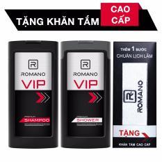 Cửa Hàng Romano Combo Dầu Gội Romano Vip 180G Va Sữa Tắm Romano Vip 180G Tặng Khăn Mặt Cao Cấp Trong Vietnam