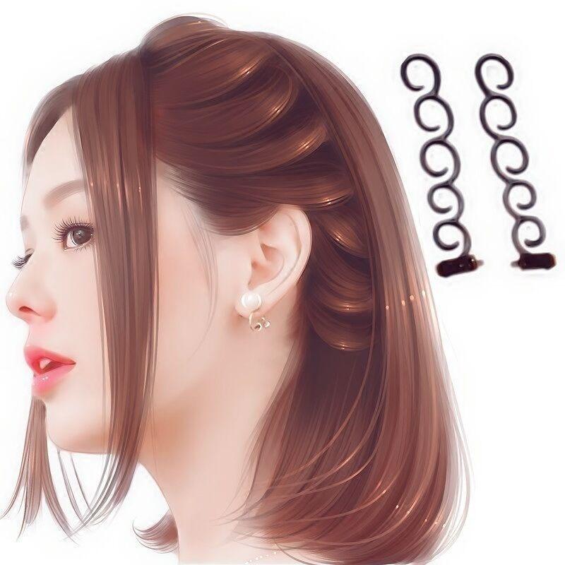 Rorychen Centipede Braid Fast Hair with A Disc Made of Artifact Side Hair Hair Dryer - intl nhập khẩu