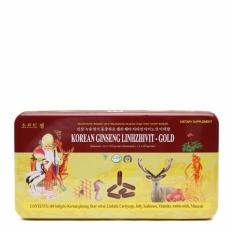 Sâm nhung linh chi cao cấp Korean Ginseng Linhzhivit - Gold