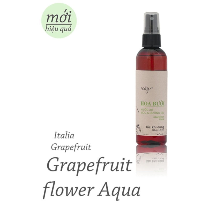 Sản phẩm trị rụng tóc hiệu quả cao Tinh Dầu Hoa Bưởi (dạng nước xịt -120ml) nhập khẩu